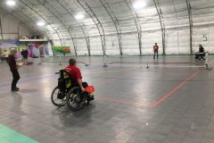 Wheelchair-pickleball